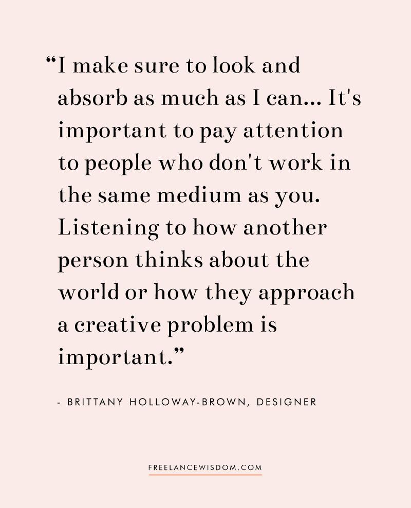 Brittany Holloway-Brown   Freelance Wisdom