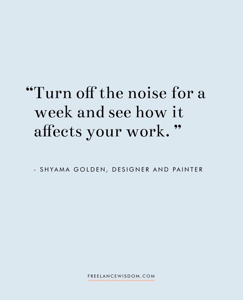 Shyama Golden | Freelance Wisdom