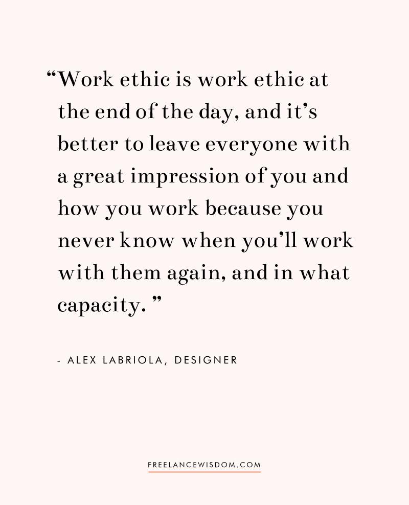 Alex Labriola | Freelance Wisdom