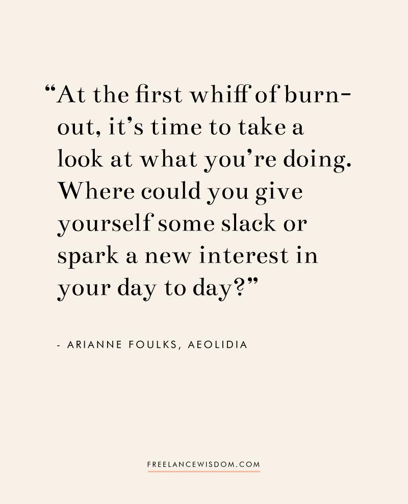 Arianne Foulks | Freelance Wisdom