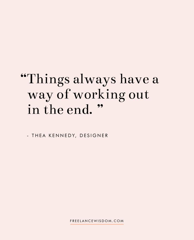 Thea Kennedy | Freelance Wisdom
