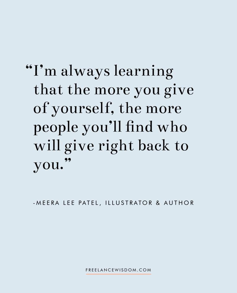 Meera Lee Patel | Freelance Wisdom