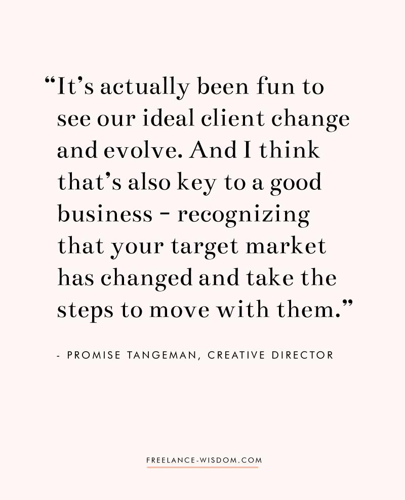 Promise Tangeman | Freelance Wisdom