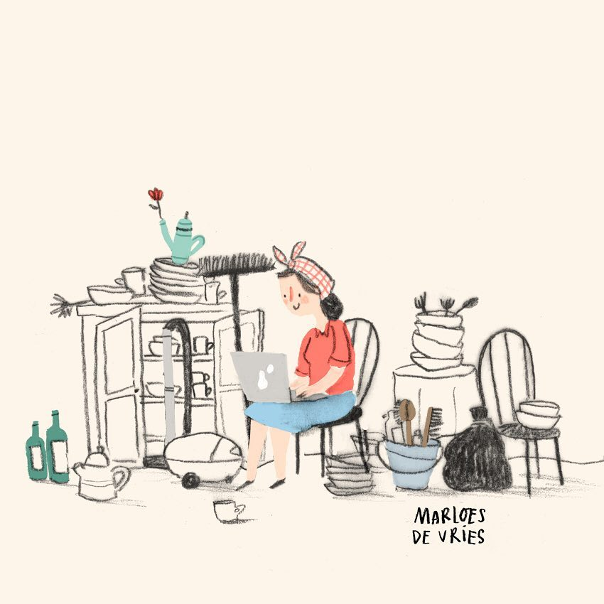 Marloes De Vries | Cleaning Mess | Freelance Wisdom