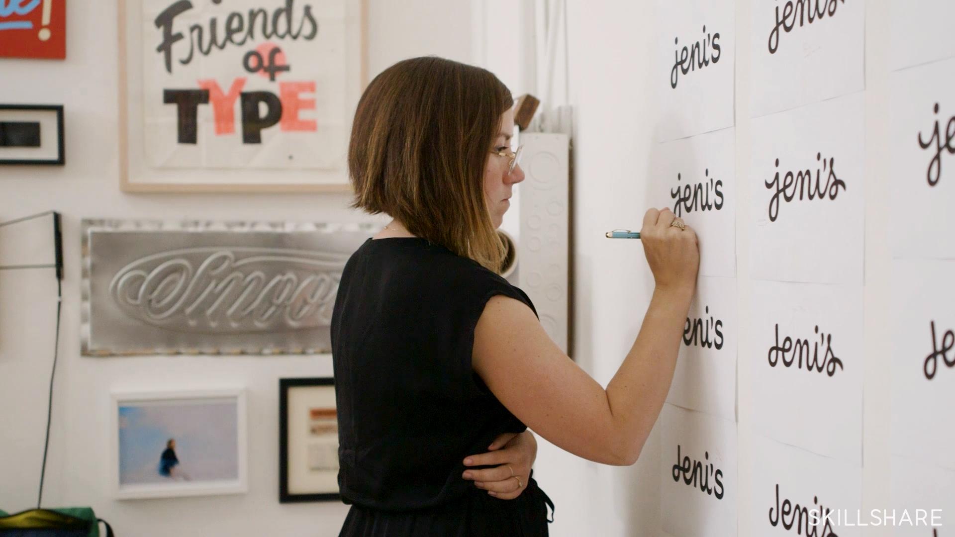 Logotype Masterclass with Jessica Hische | Skillshare | Freelance Wisdom