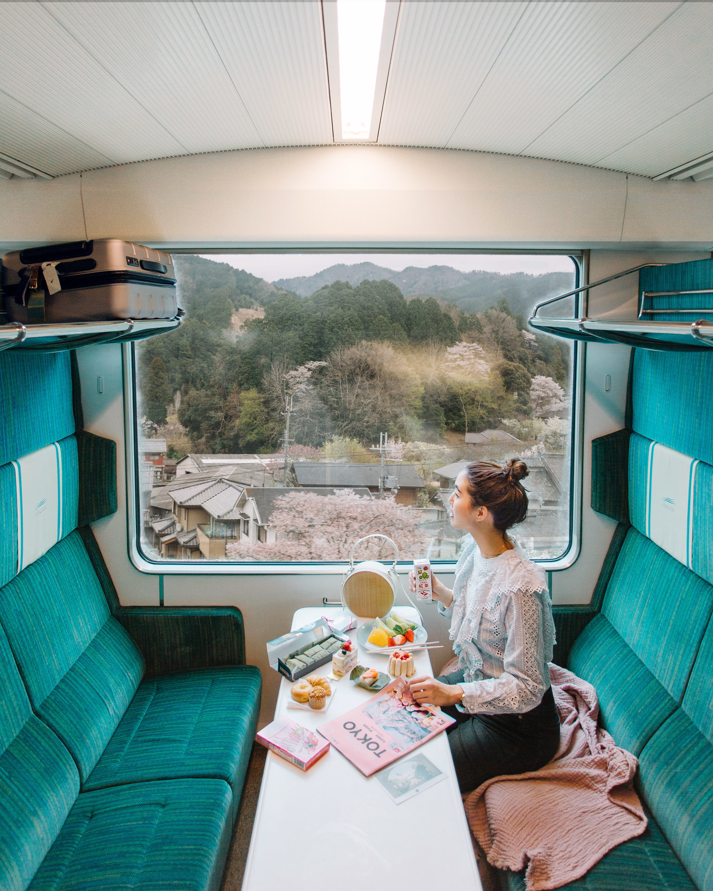 Sam Wong | Kintetsu Sightseeing Limited Express | Freelance Wisdom