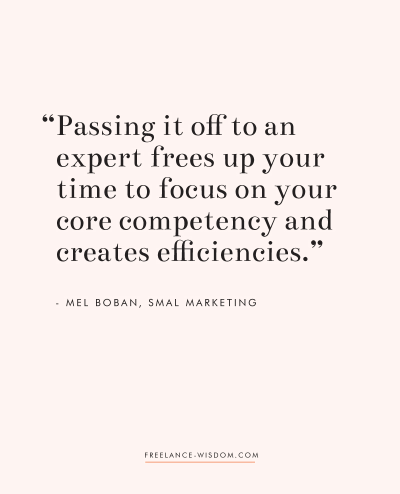 Mel Boban | Smal Marketing | Freelance Wisdom