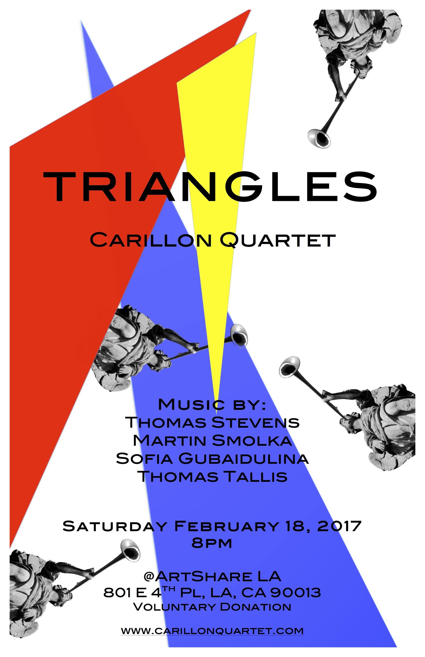 Triangles - Poster by: Nicolás Bejarano