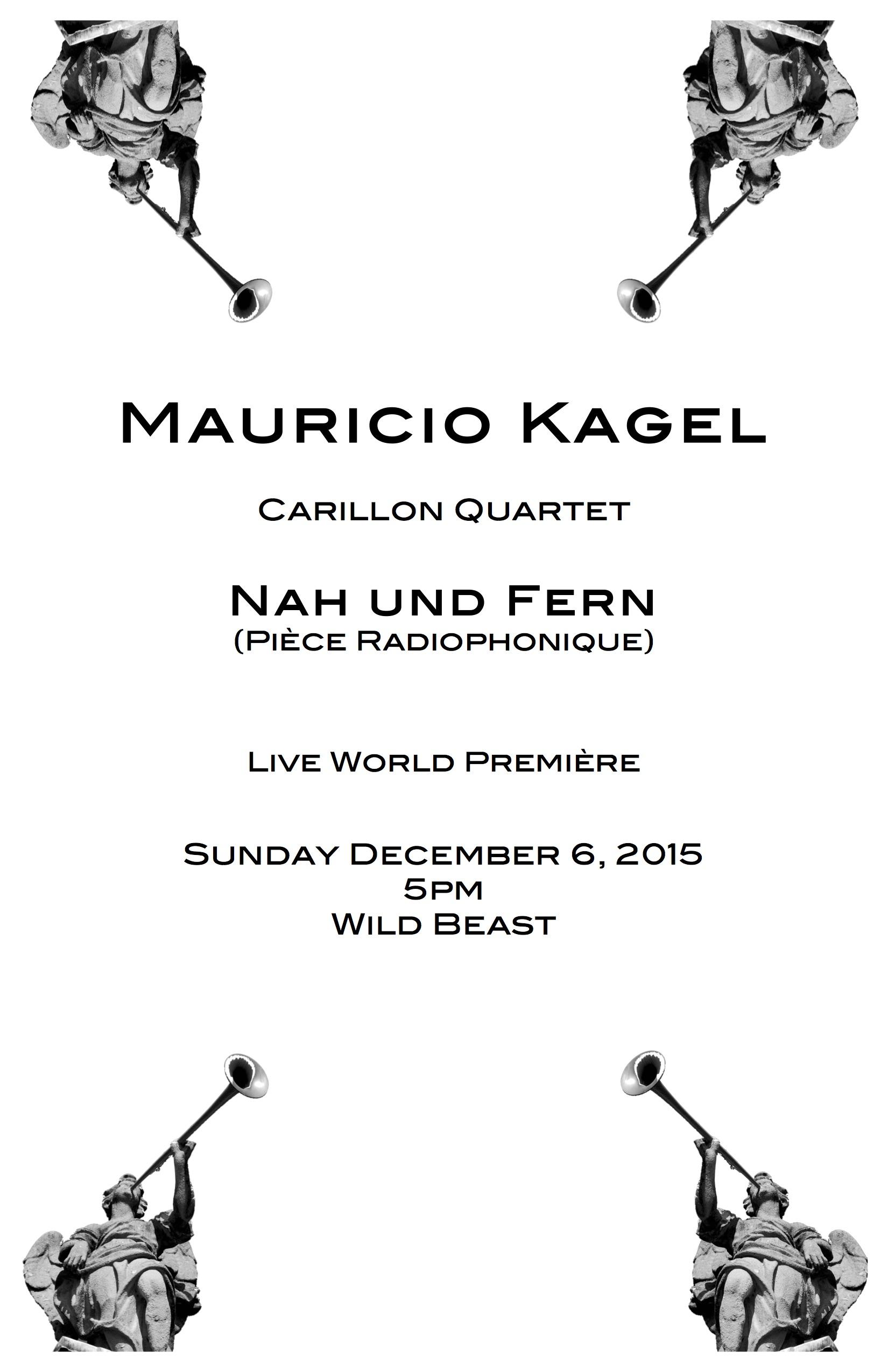 Nah und Fern, World Première - Poster by: Nicolás Bejarano