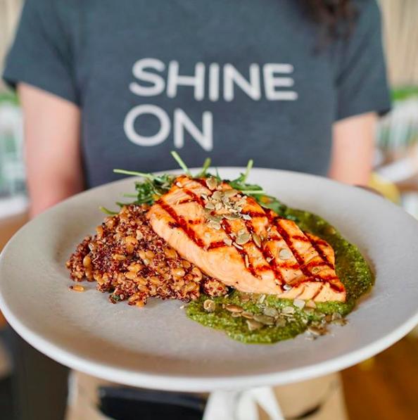 True Food Kitchen - Grilled Salmon