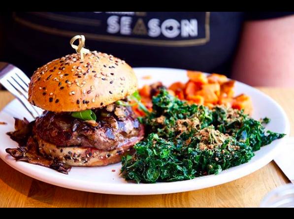 True Food Kitchen - Grass-fed Burger
