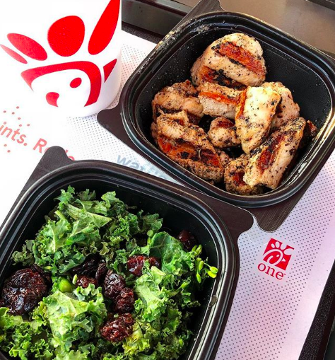 Chick-fil-A - Grilled Nuggets & Superfood Side