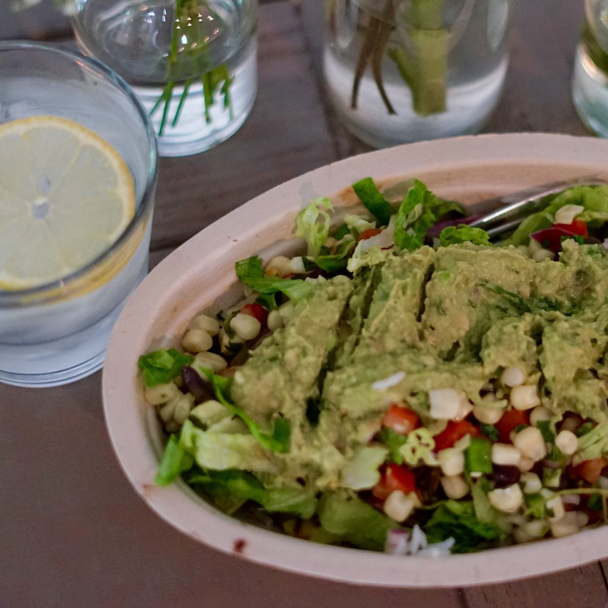 Chipotle - Vegetarian Burrito Bowl