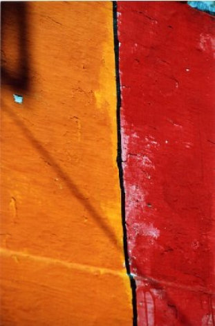 Nepal II Orange and Red