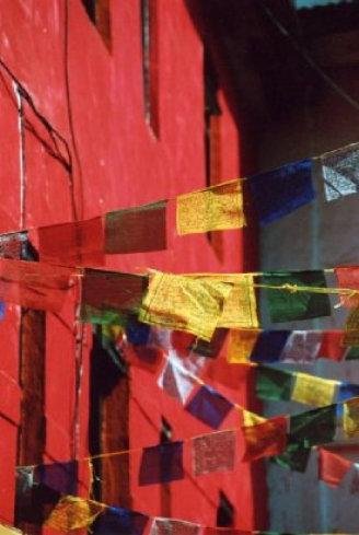 Nepal II Prayer Flags