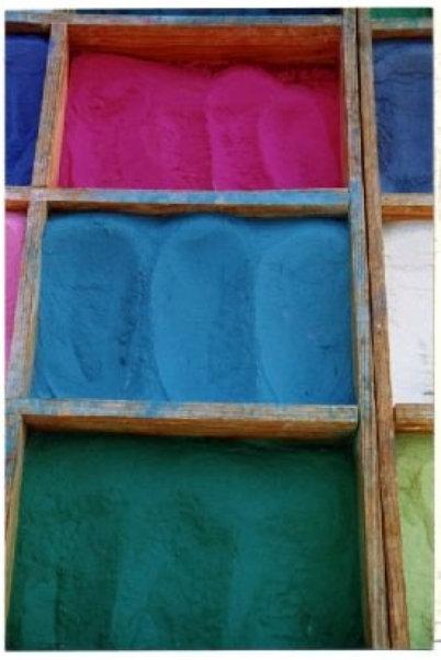 Three Dye Boxes