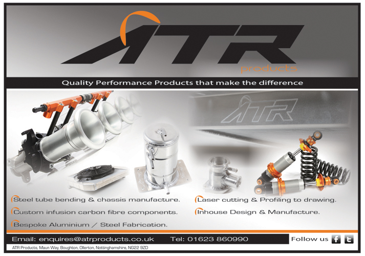 ATR Products: Logo Design & Magazine Adverts.