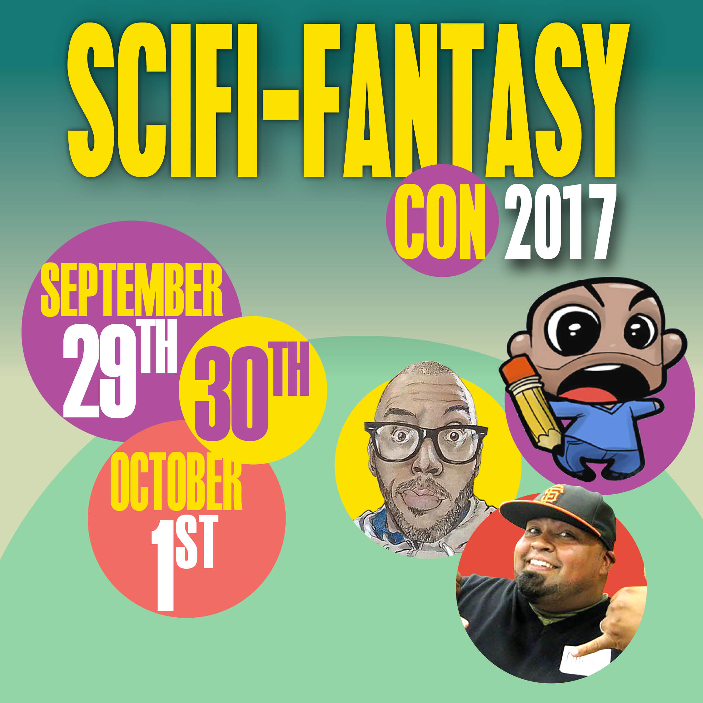 Scifi-Fantasy Con - This weekend, the Turlock Toon Skwad will be at the Hard Rock Cafe Hotel for the SciFi-Fantasy Comic Con. If you happen to be in the area, pass by our tables and say hello. Hope to see you there.