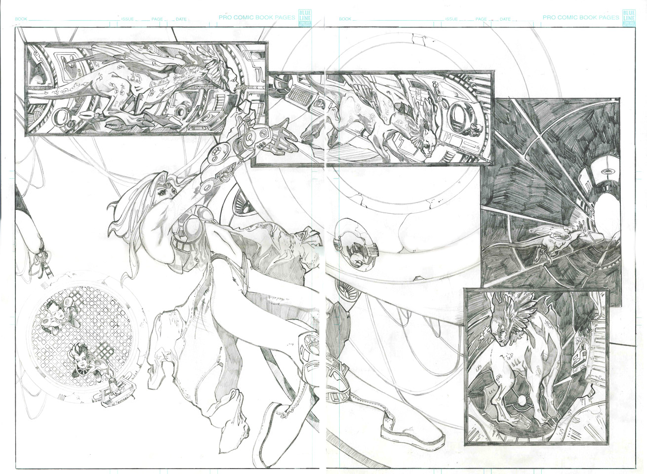 This is what the page spread was supposed to look like. I am keeping the concept in tact for the new version.