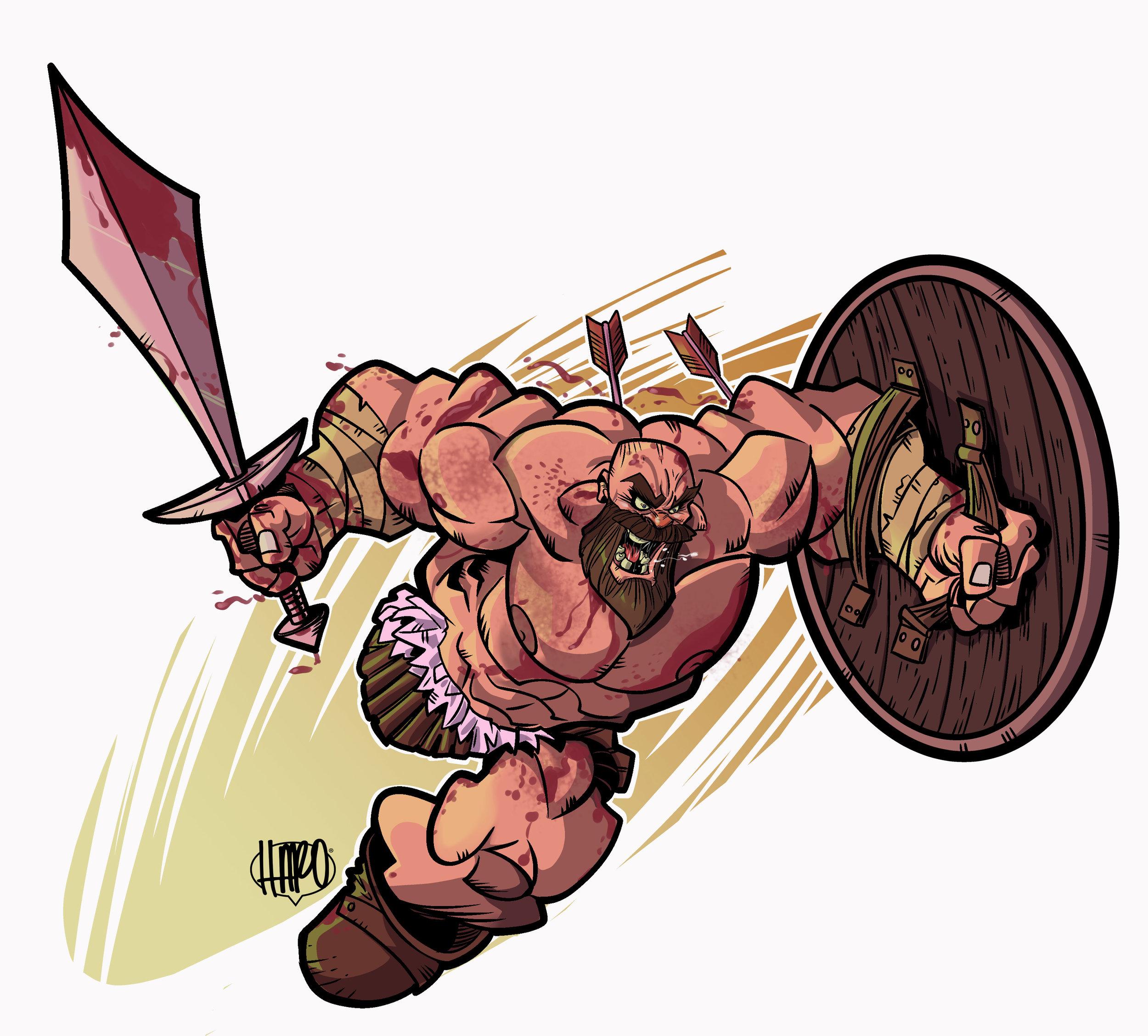 Magnus The Brave by Harold George-Haroartist.jpg