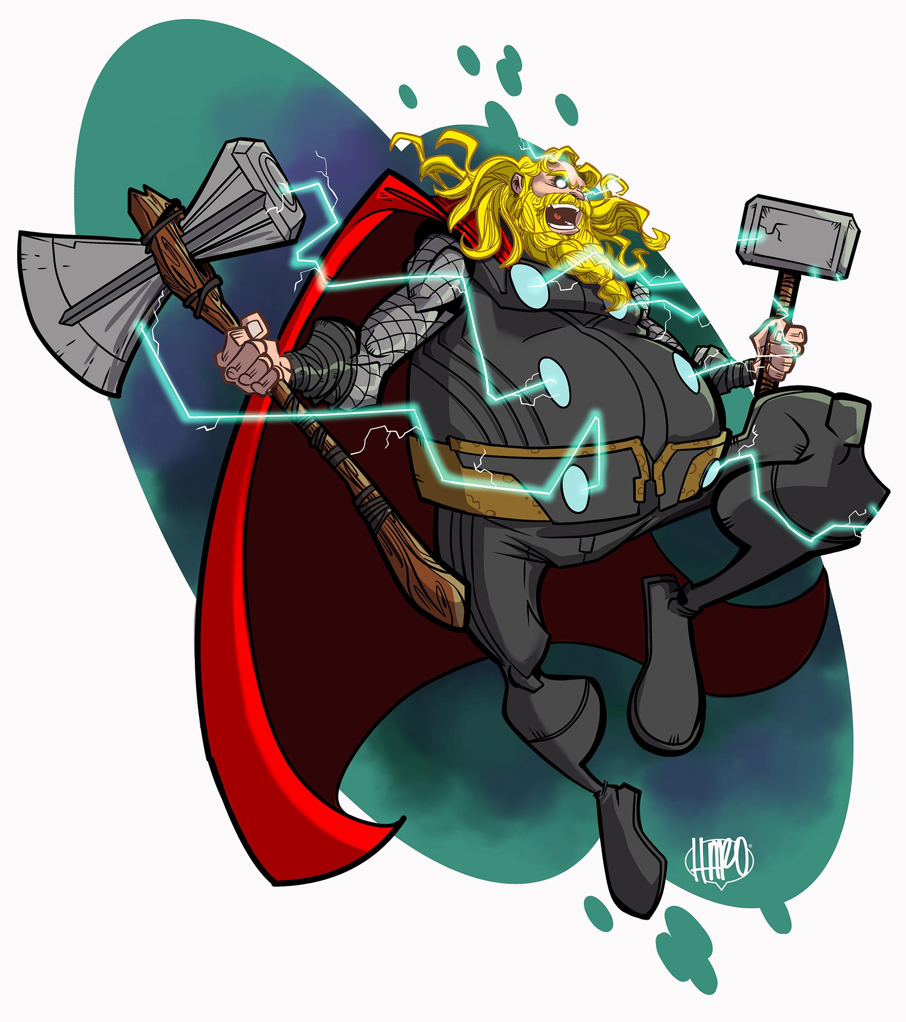 Thor Endgame Harold George Haroartist.jpg