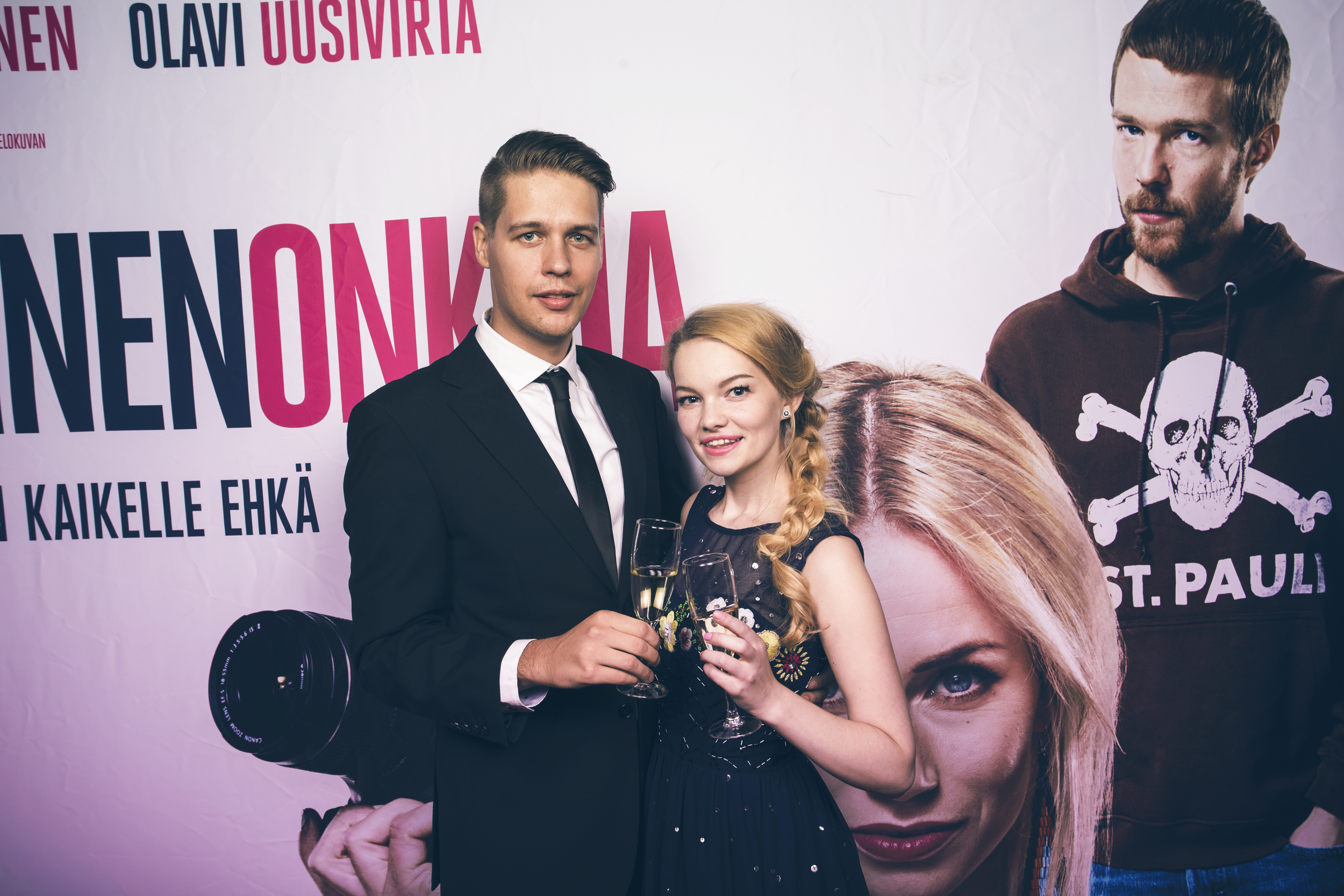 With my love at the red carpet © Kristian Tervo