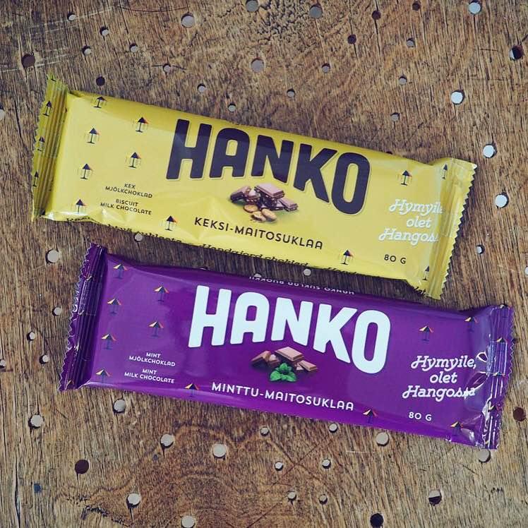 Hanko chocolate