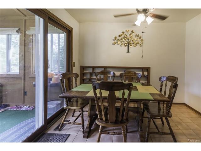 6520 CROFOOT Road, Iosco Twp 48843 - Dining Room