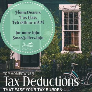 Register for our FREE Homeowners Tax Class!