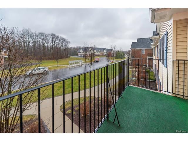 3253 Kneeland Circle, Howell Twp 48843 - Balcony