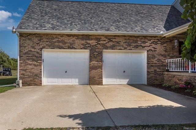 2 Car Garage - 62800 HICKORY HILL Court, Lyon Twp 48178
