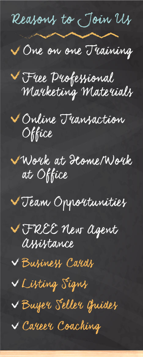 View the Benefits OF working with the team hinton real estate group