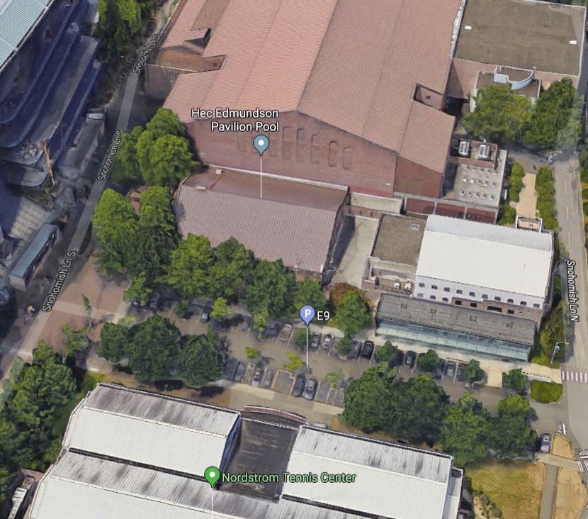 Birds Eye View: North Plaza -