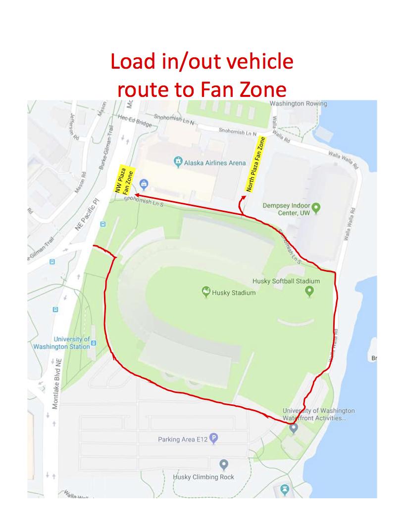 LI/LO Vehicle Route -