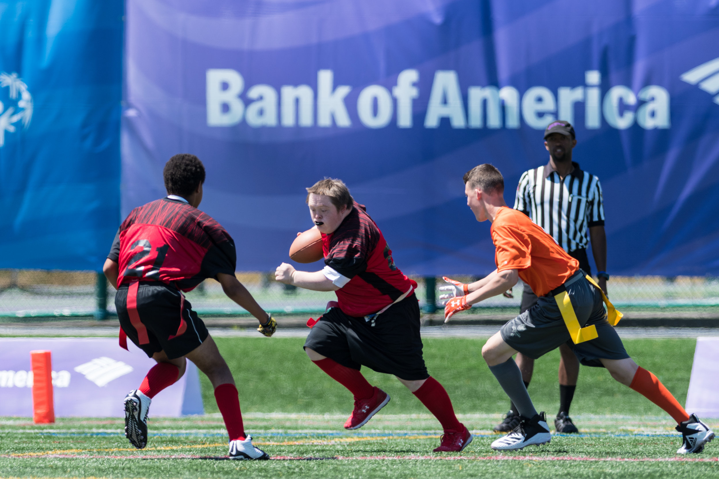 July 5, 2018 - Seattle, WA - USA Games Flag Football