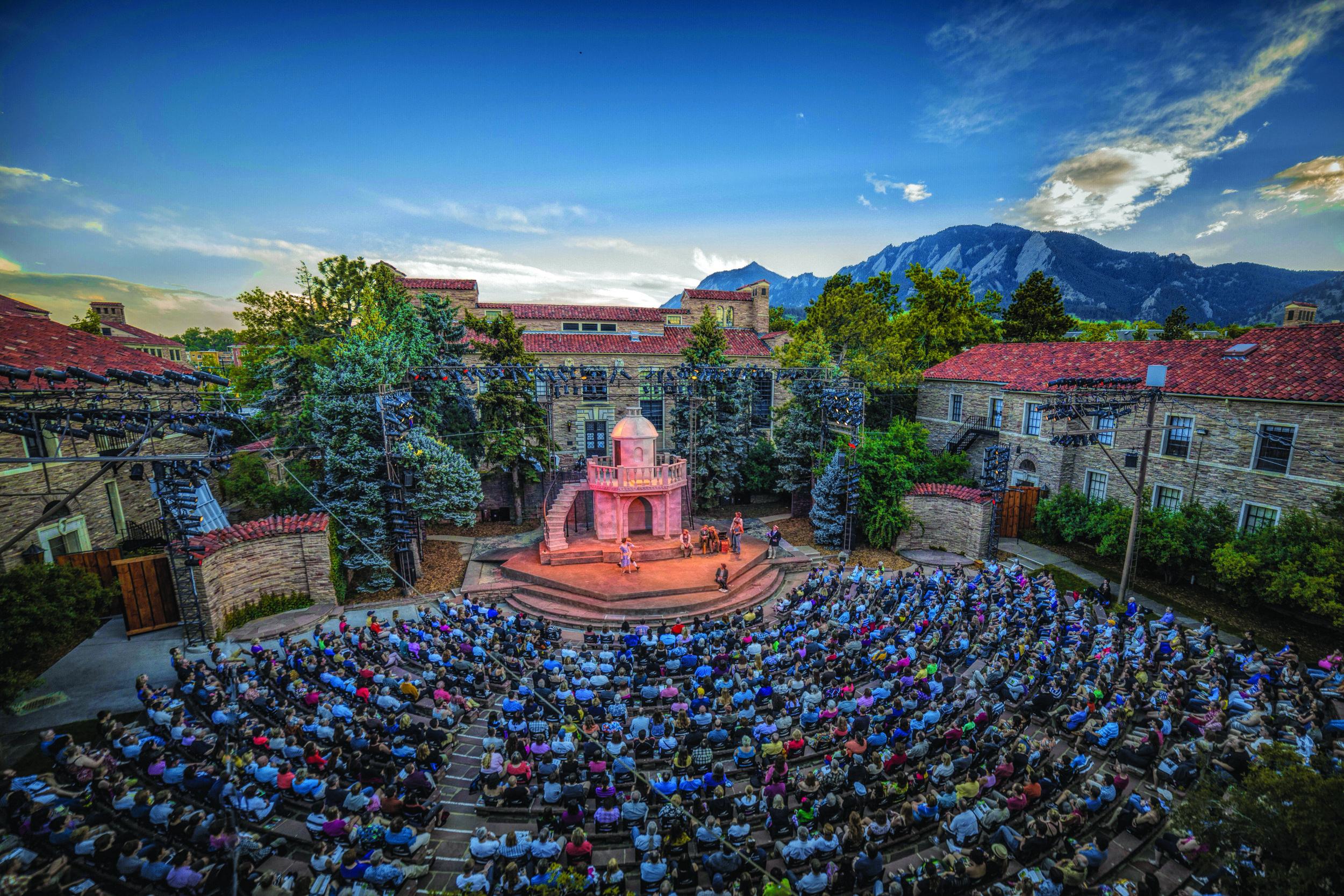 Mary Rippon Outdoor Theatre Photo: Zachary Andrews