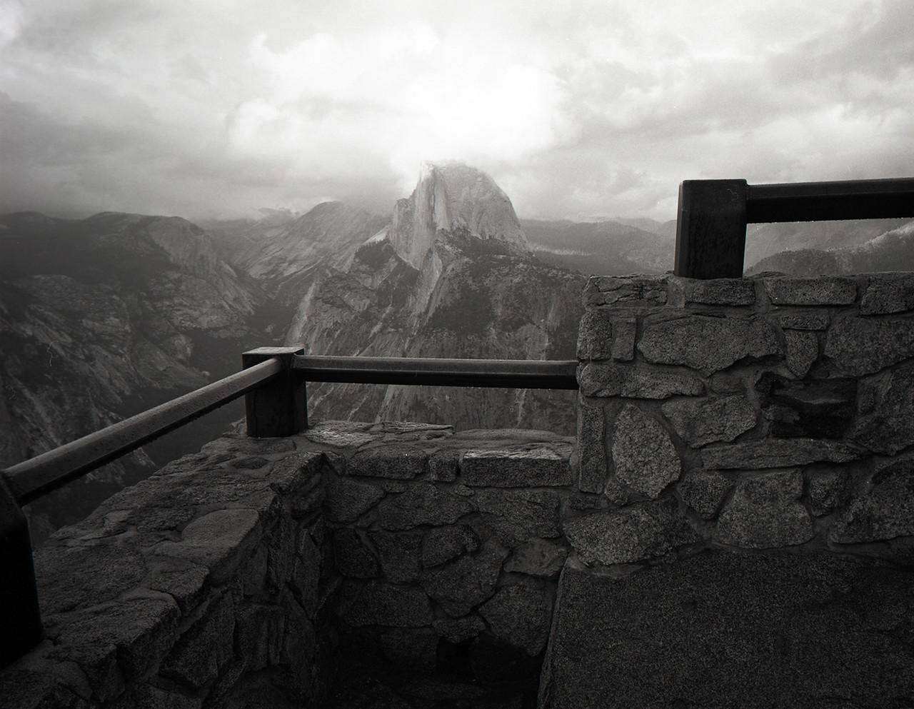 Half Dome, Yosemite National Park. 2015. Silver Gelatin Print.