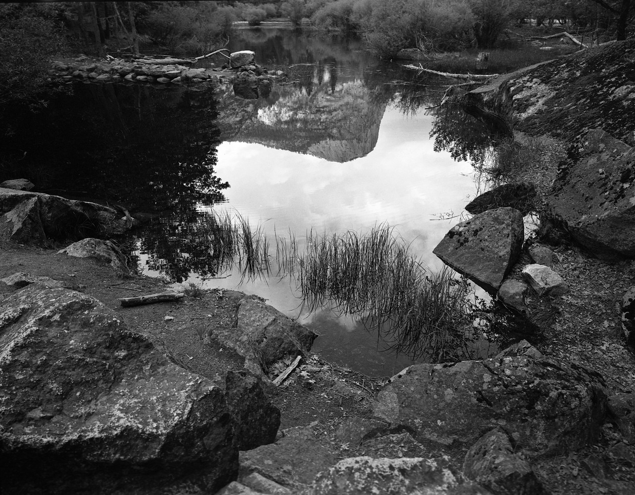 Mt. Watkins Reflection, Yosemite National Park. 2015. Silver Gelatin Print.