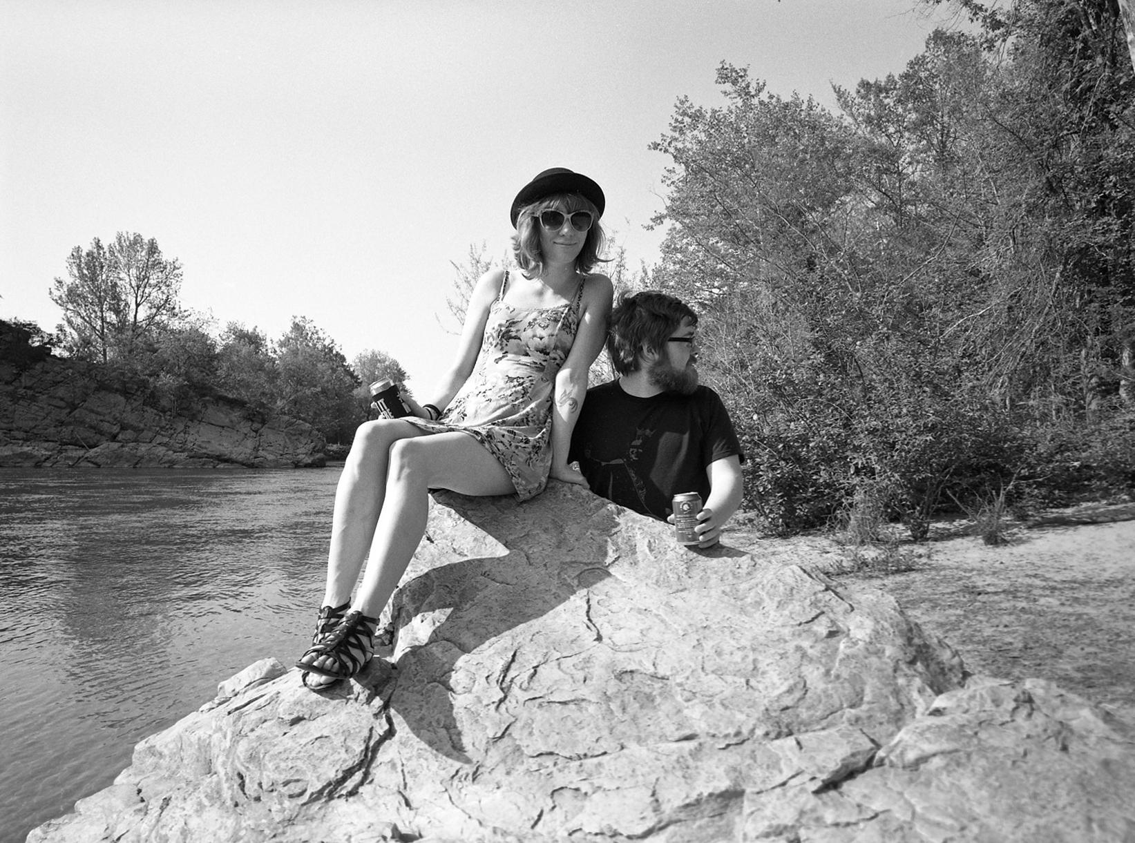 Jackie and Tyler. Jonesborough, TN. 2015.