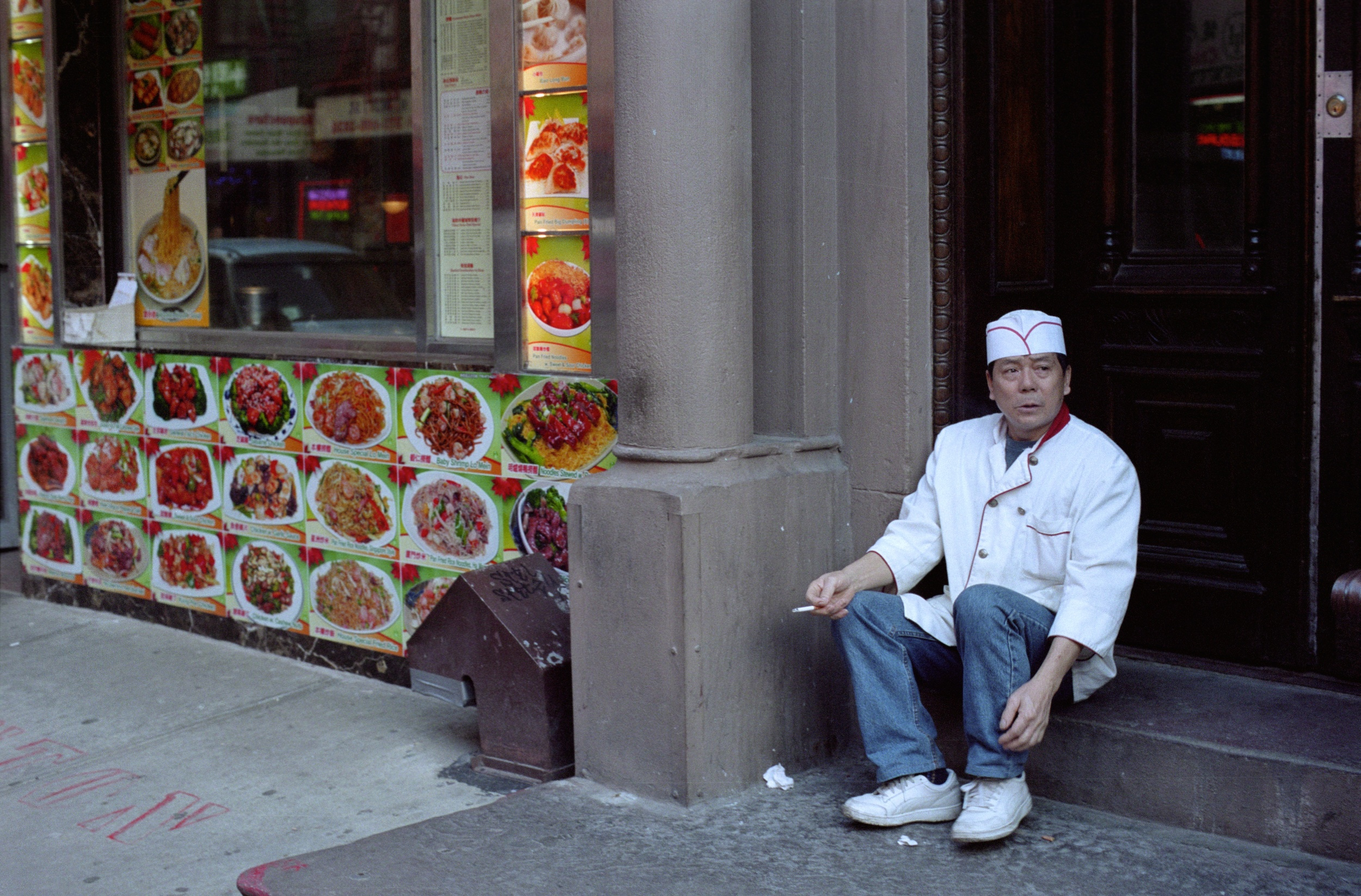 Smoking Man, New York City, NY. 2014. C-Print.
