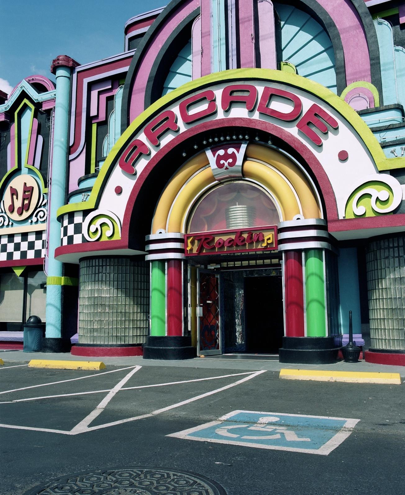 Rockin' Arcade, Pigeon Forge, TN. 2013.