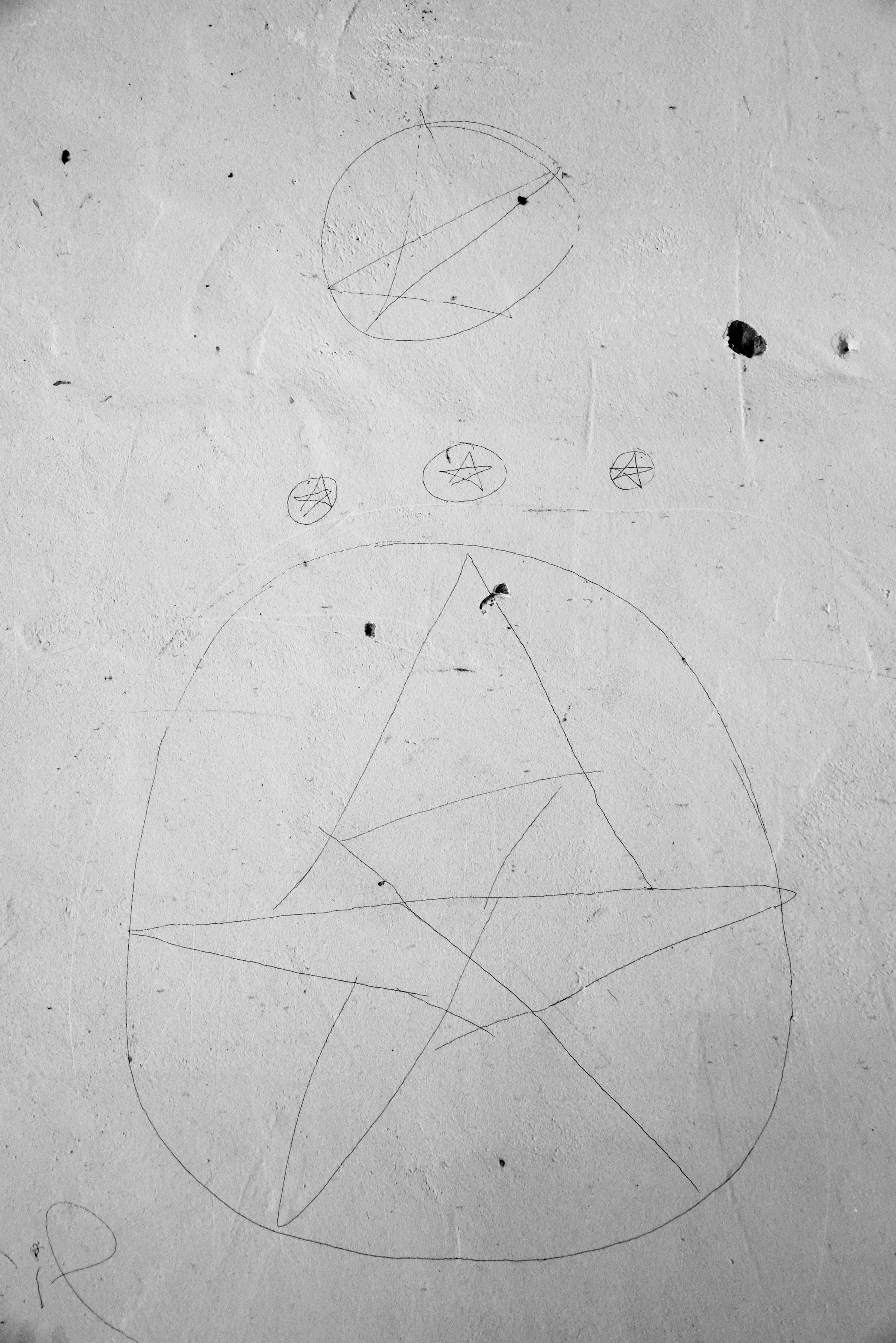 Pentagrams. Roan Mountain, TN. 2016.