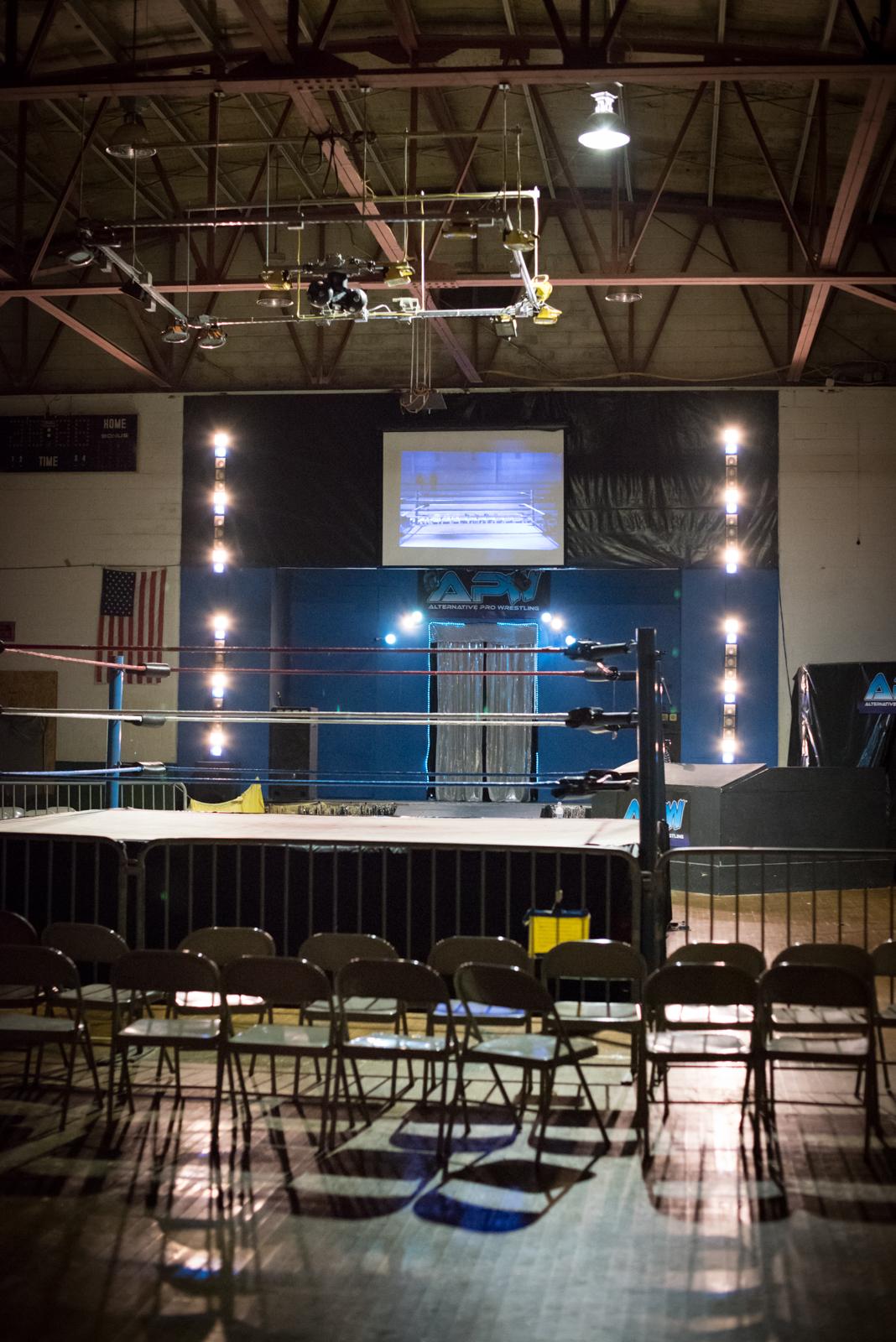 Alternative Pro Wrestling, Royston, GA. 2017.