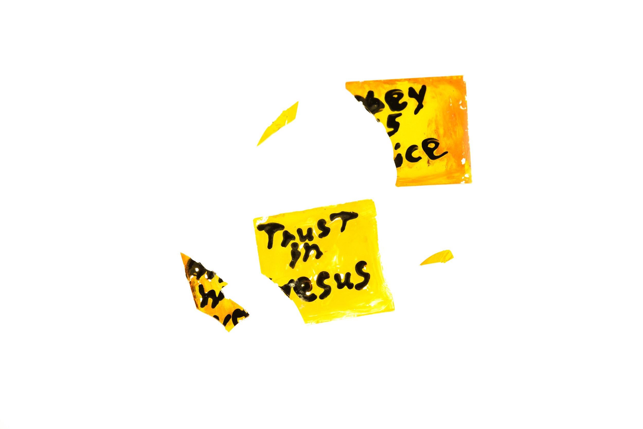 Obey His Voice & Trust in Jesus. 2016. Digital Image.