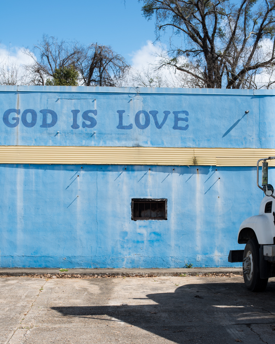 God is Love. Savannah, GA. 2017.