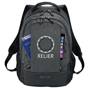 "The Kenneth Cole® Pack Book 17"" Computer Backpack has a modern professional look and plenty of features."