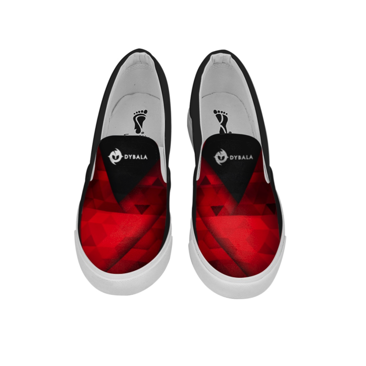 1. Single Images:  If you select this option your artwork is printed identically onto each shoe