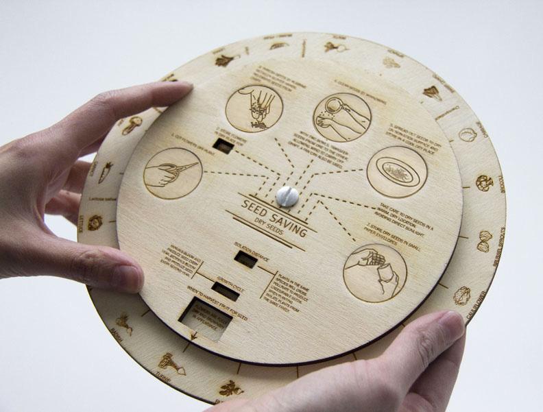 Seed Saving Info Wheel