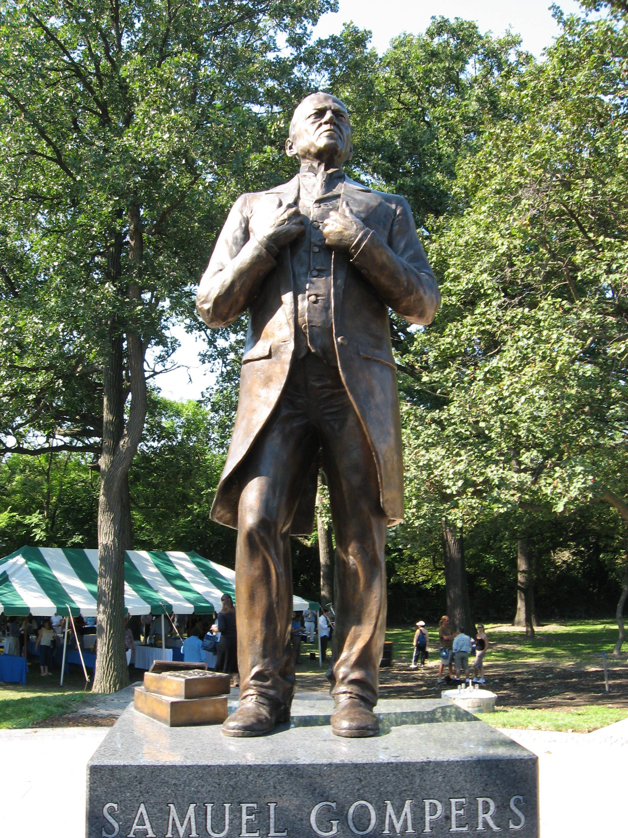 Gompers Statue