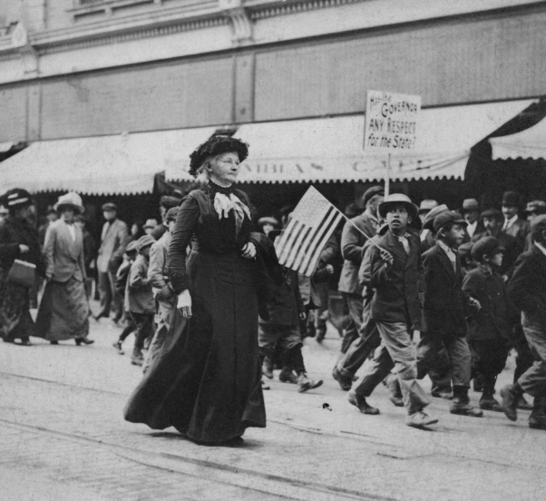 Mother Jones, a champion for child labor laws.